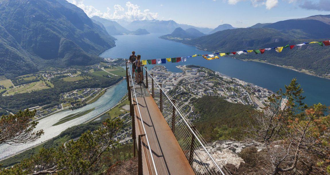 Romsdalseggen Rampestreken Romsdalsfjord Åndalsnes