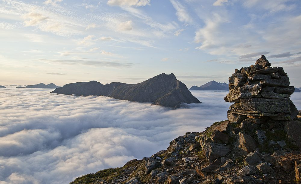 Romsdalseggen Romsdalen Fjell