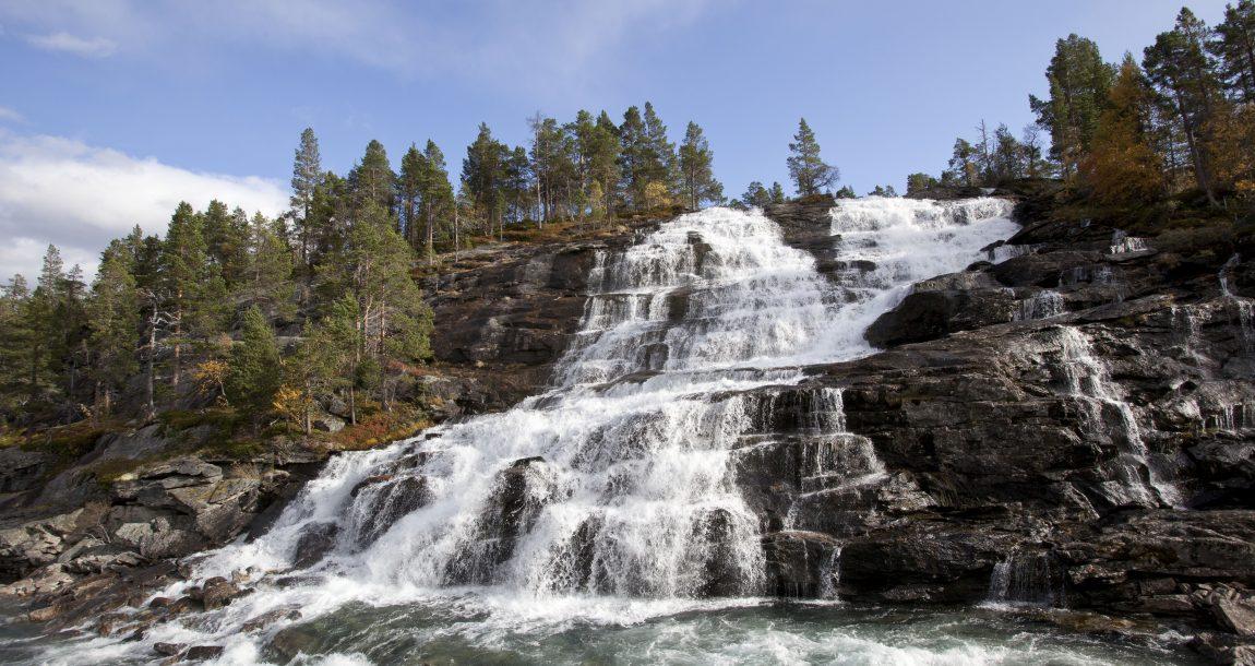 Waterfall Romsdalen