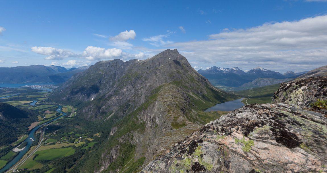 Romsdalseggen Romsdalen Åndalsnes Fjord