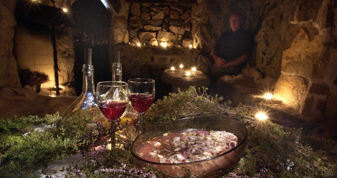Tuen vingård Vinkjeller